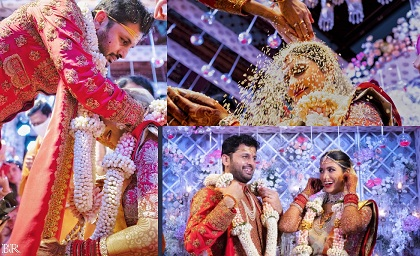 Nithin shalini Marriage Photos