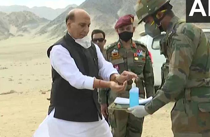 Rajnath Ladakh