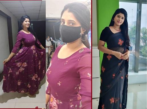 Roja Gorantla Hot Telugu tv anchor News Reader